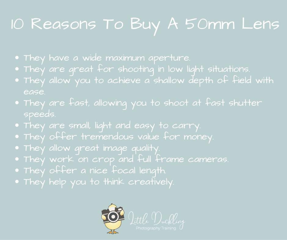 50mm Lens Reasons